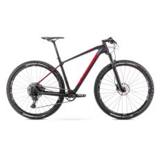 Rower ROMET MONSUN 2 czarno-czerowny  2021
