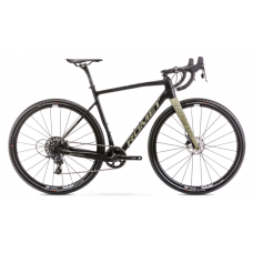Rower ROMET NYK czarno-beżowy 2021