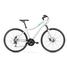 Rower ROMET ORKAN 1D biało - niebieski  2021