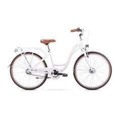 Rower ROMET PANDA 2 biało-brzoskwiniowy 2021