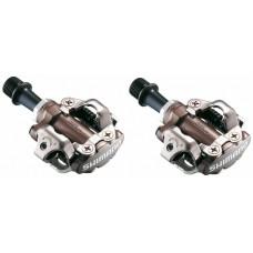 Shimano Pedały SPD M540 + bloki PD-M540 brązowe