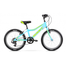 Rower ROMET RAMBLER 20 KID 1 niebiesko-zielono-żółty 2021