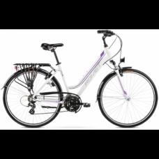 """Rower ROMET GAZELA biało-fioletowy 2021 18"""""""