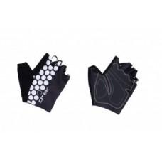 Rekawiczki bez palców XLC czarny/bialy rozmiar L