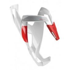 Elite koszyk Custom Race Plus połysk biało/czerwony